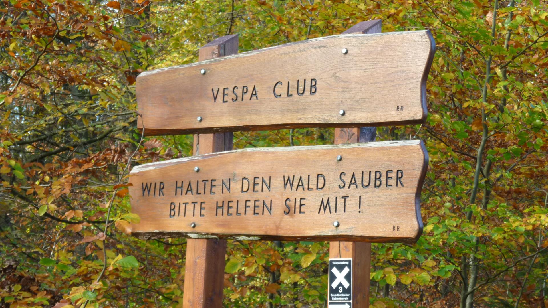 Vespa Life Vespa Club Hagen Wegweiser