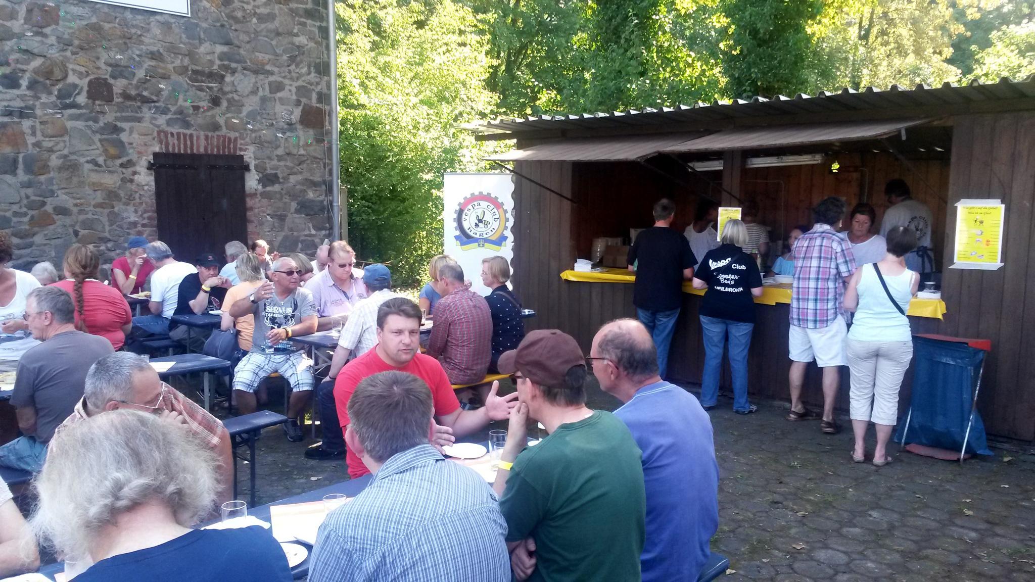 Grillstand Vespa Life Vespa Club Hagen