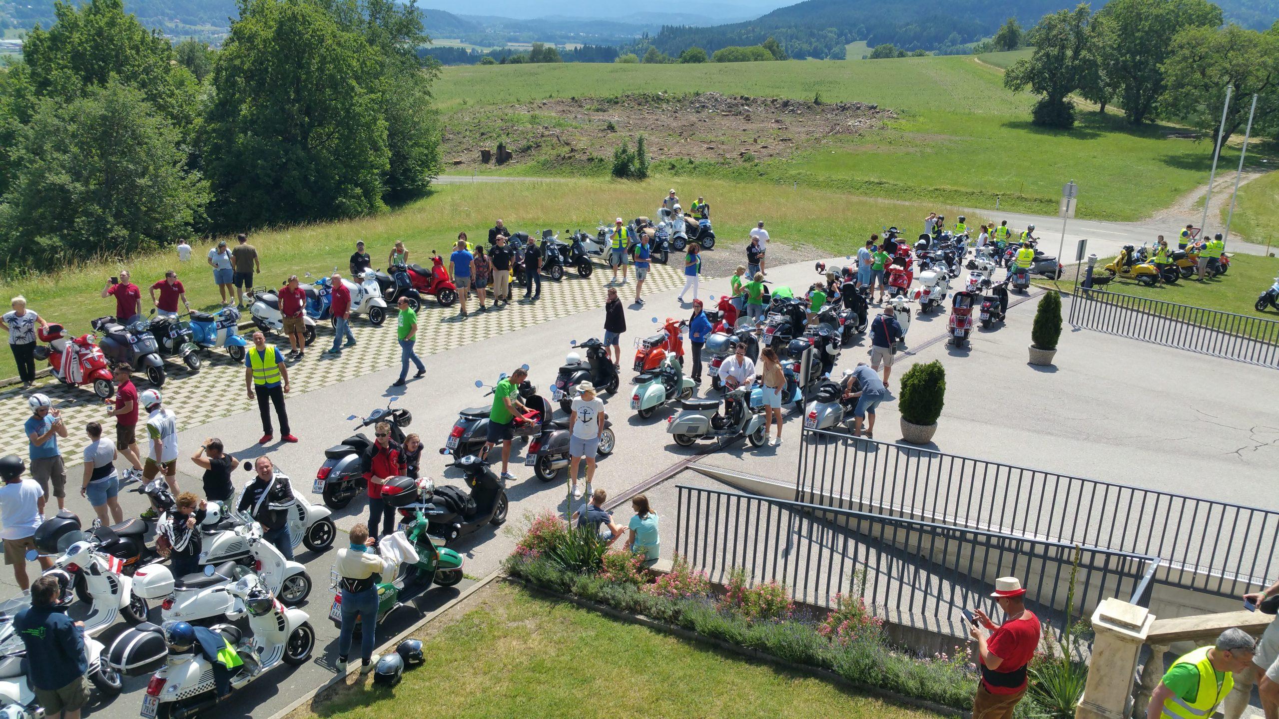 Vespa Club Hagen Zell am See 2019